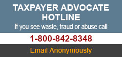 Taxpayer Advoicate Hotline 1-800-842-8348